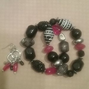Catherines Jewelry - Catherine's Bracelets and earrings set.